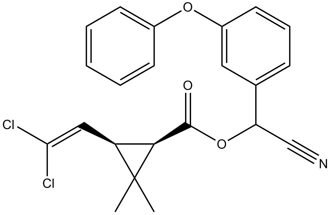 Alpha-cyperméthrine - Paramètre chimique